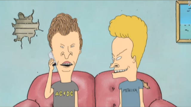 "Somehow, <a href='http://marquee.blogs.cnn.com/2011/10/28/beavis-and-butt-head-back-to-their-old-tricks/?iref=allsearch' target='_blank'>when ""Beavis and Butt-head"" returned to MTV in 2011</a> after 14 years off the air, they were just as immature as they were after first being introduced in 1993. And fans <i>loved </i>it."
