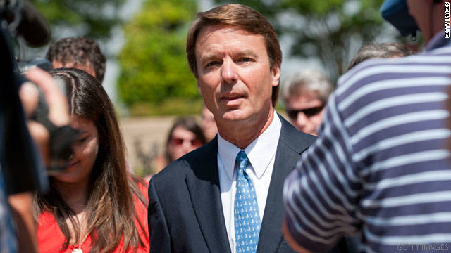Former Sen. John Edwards was accused of using illegal campaign contributions to keep his pregnant mistress under wraps.