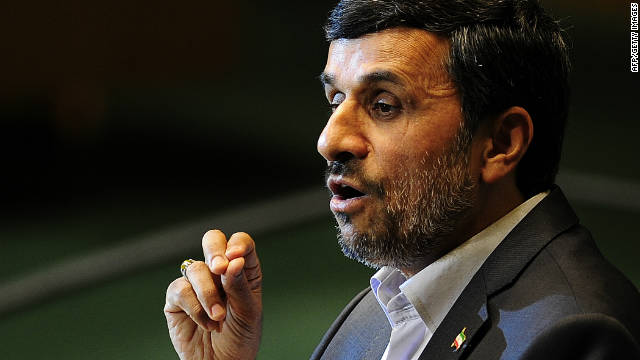 Iranian President Mahmoud Ahmadinejad slammed the IAEA and said the agency has no jurisdiction in Iran. 