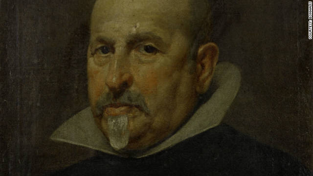 The newly-discovered Portrait of a Gentleman, by 17th century Spanish artist Diego Rodriguez de Silva y Velzquez 