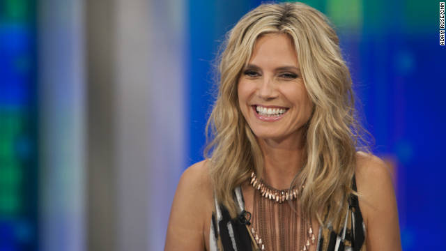 Model, TV host, fashion designer and mother of four Heidi Klum is Piers Morgan's guest Friday at 9 p.m. ET.