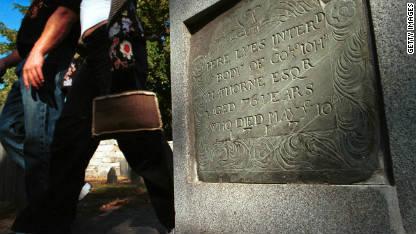 Five haunted cemeteries