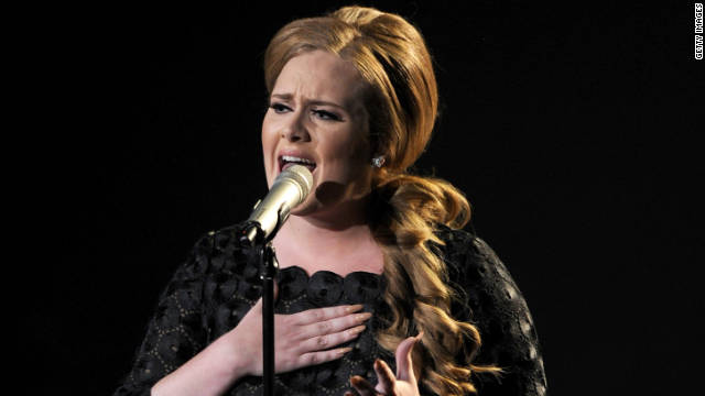 Adele performs during the 2011 MTV Video Music Awards in August in Los Angeles.