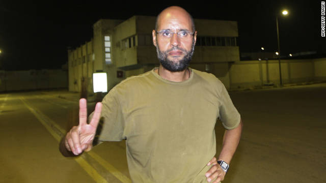 Saif al-Islam, son of late former Libyan leader Moammar Gadhafi, is wanted for crimes against humanity.