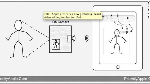 Apple patent uses 3-D gestures to control iPad