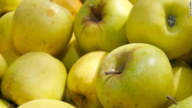 La manzana es el alimento con más pesticidas en EE.UU.