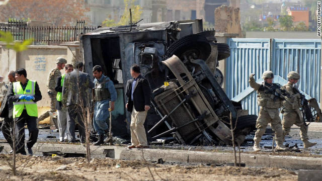 Officials split on Haqqani connection to deadly weekend attack