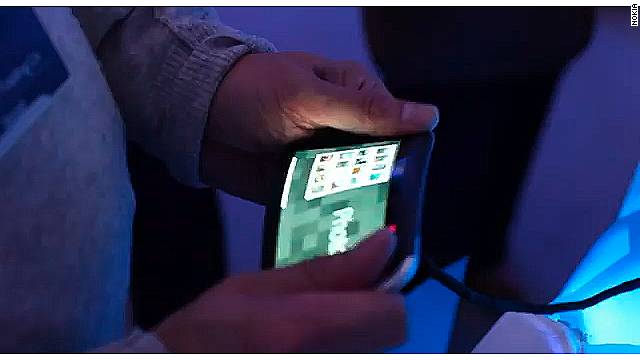 Nokia demoed a prototype of what could be the first in a line of products with flexible screens.