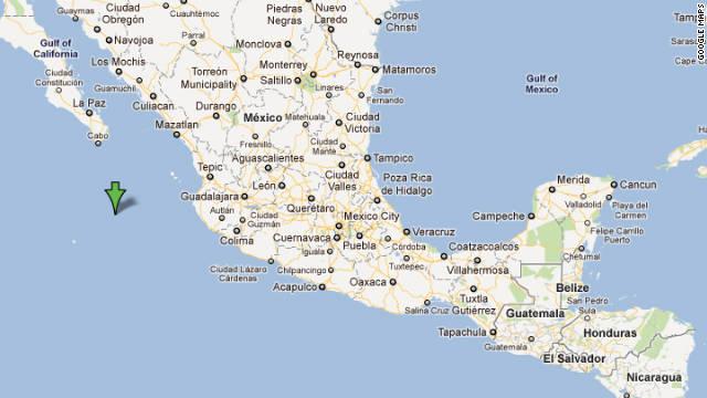 Un sismo de magnitud 6,5 golpea las costas del Pacífico mexicano