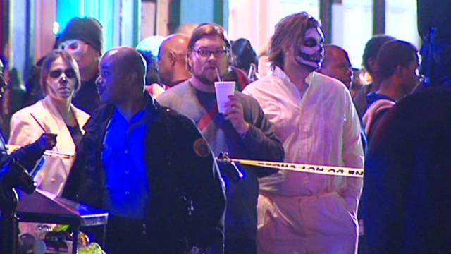Dos muertos y 10 heridos en Nueva Orleans por tiroteos en la noche de Halloween