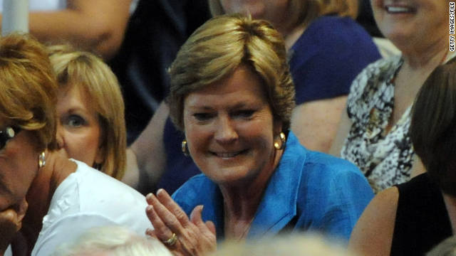 Pat Summitt remains involved in mentoring Tennessee basketball players and in recruiting.