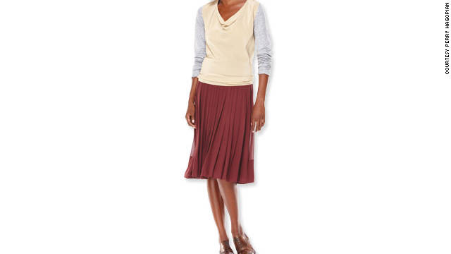 Pair oxfords with a feminine midi for a subversively sexy look.