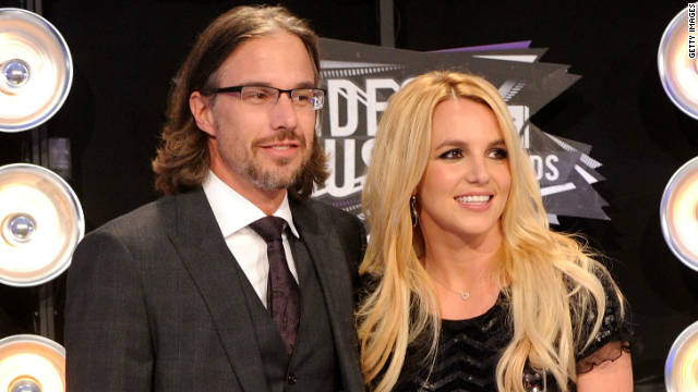 Jason Trawick and Britney Spears, shown in August 2011, began dating in 2009.