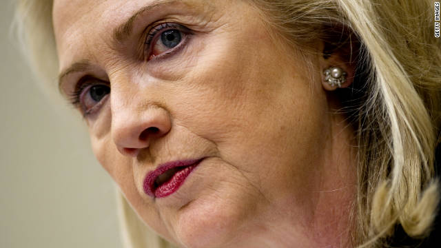 Clinton: I'm responsible for diplomats' security