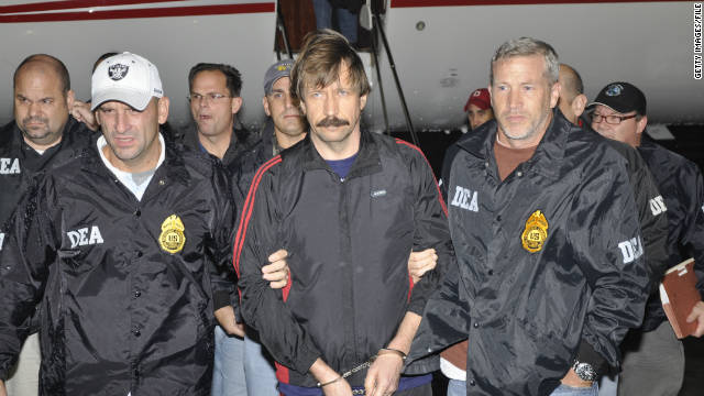 Russian arms dealer Viktor Bout gets 25-year sentence