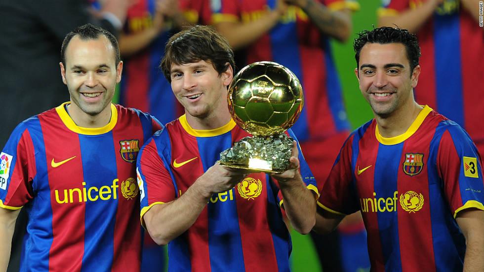 Los finalistas del Balón de Oro