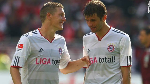 Bayern Munich endured a frustrating end to last season, registering a third-place finish in the German Bundesliga. Despite a disappointing campaign, the four-time European champions are represented on the shortlist by Germany pair Bastian Schweinsteiger and Thomas Muller.