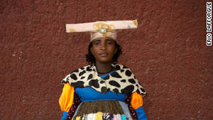The Namibian women who dress like Victorians