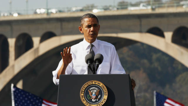 Obama to push for infrastructure projects, resulting jobs