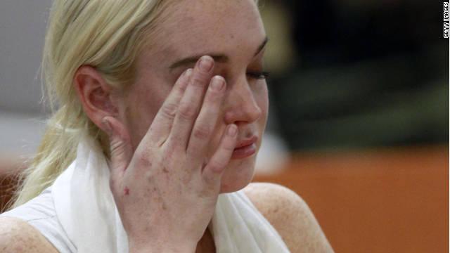 Lindsay Lohan volvió a la cárcel, pero…
