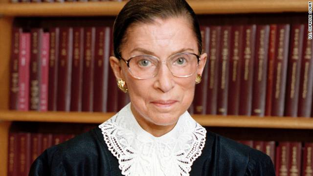 Supreme Court Justice Ruth Bader Ginsburg says some have called the latest deliberations