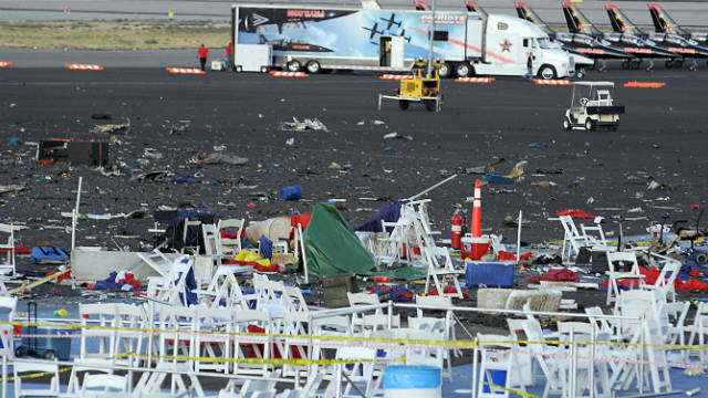 A plane crashed into spectators at the National Championship Air Races in Reno, Nevada, on September 16.