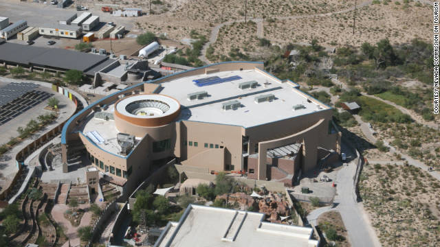 Nevada State Museum's new $50 million building will feature a 43-foot-long ichthyosaur.