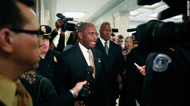 Video: Herman Cain meets Washington's 'scandal industrial complex'