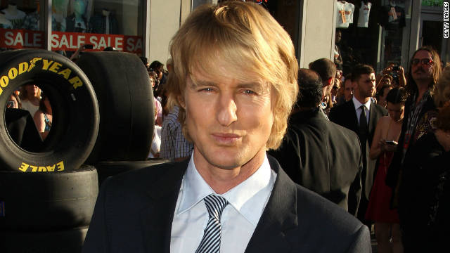 What Owen Wilson can't wait to do with his son