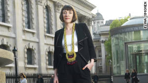 Helen Jennings, editor of ARISE, the quarterly magazine dedicated to global African fashion, music and culture.