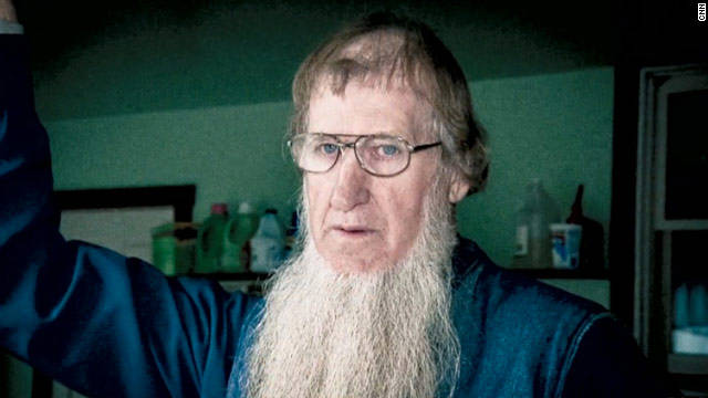 Sam Mullet, leader of the breakaway Amish sect, denies he's running a cult.