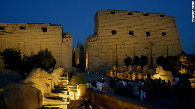 The Karnak temple in Luxor, Egypt is one of the world's oldest surviving shrines. According to Adjaye, it is a &quot;primal structure&quot; that embodies the very essence of Africa.