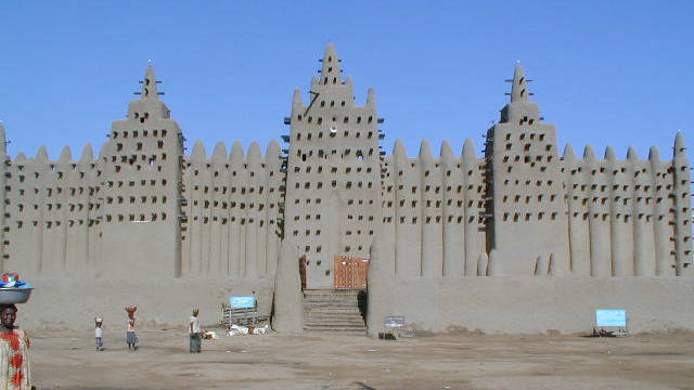 Another inspirational structure on the African continent, the great mosque of Djenne in Mali is &quot;one big piece of architecture,&quot; says Adjaye.