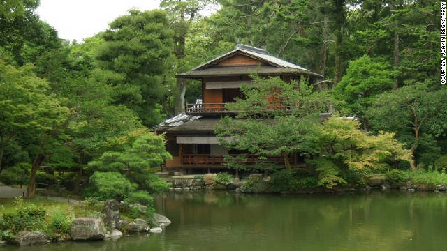 The quaint and peaceful tea houses of Kyoto made a big impression on Adjaye when he visited Japan. &quot;I think Japan made me realise how critical Africa was,&quot; he says. &quot;It's ironic, i had to go to Japan to really aesthetically become more sensitive to what my culture had.&quot; 