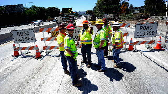 The Senate rejected competing proposals to boost construction of roadways and other infrastructure projects.