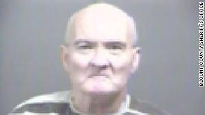 Glendon Swift, 62, was arrested Wednesday and charged with making threats against Rep. Eric Cantor's family.