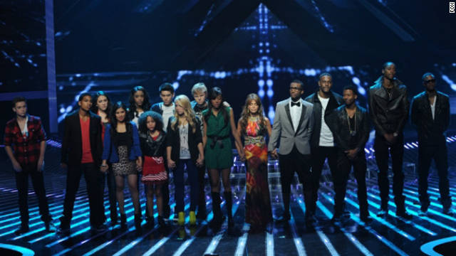 Who was kicked off the 'X Factor'?
