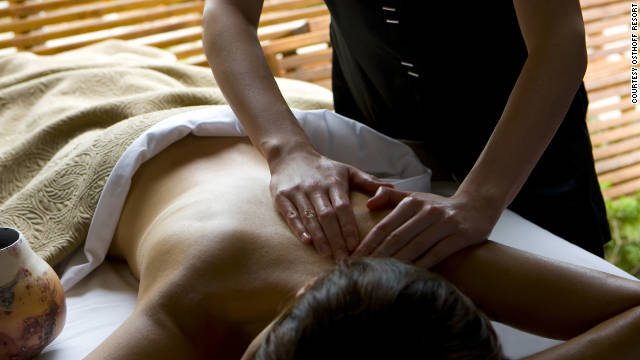 The Aspira Spa at the Osthoff Resort in Wisconsin has developed shorter versions of many treatments.