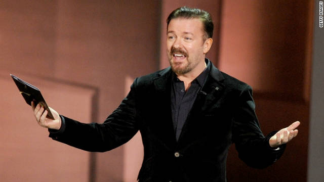 Ricky Gervais may host the Golden Globes again