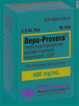 Depo-Provera, an injection form of birth control, provides protection for three months with hormones that prevent ovulation and block sperm. It doesn't contain estrogen as do some other forms of birth control. As a result, it is a popular option for women who can't take estrogen or who are breastfeeding.