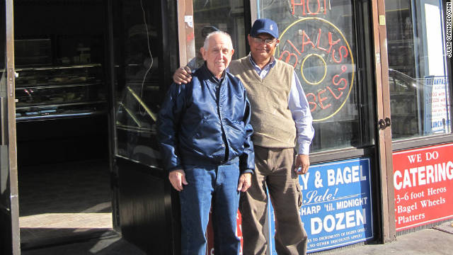 Coney Island Bialys and Bagels was set to close until two Muslim cab drivers vowed to keep it open -- and kosher.