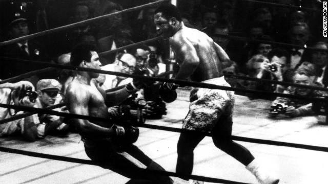 El excampeón mundial de boxeo Joe Frazier murió a los 67 años