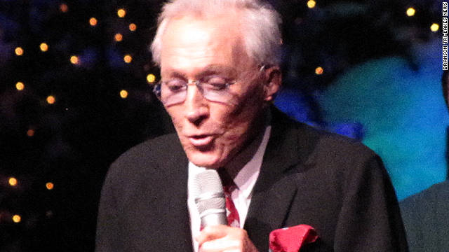 Andy Williams performs Saturday night in Branson, Missouri.