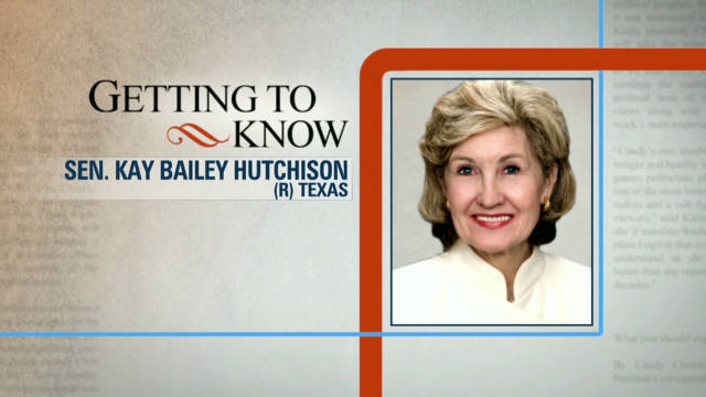account of the life of kay bailey hutchison Woe are the democrats for generations now, they've been telling the american people that only they, and their cohort of liberals and leftists, understand and truly value women.