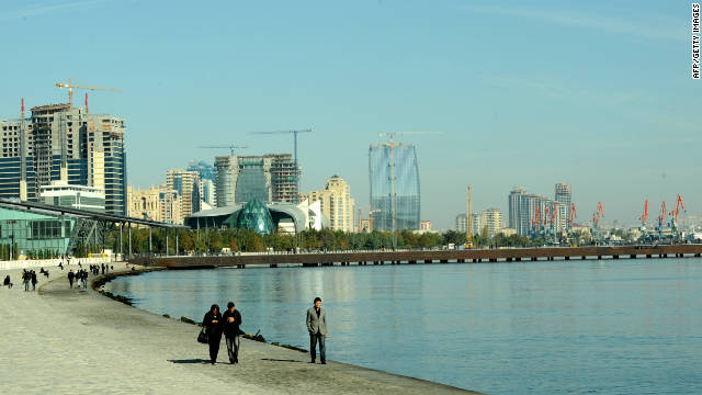 Baku's rapidly expanding skyline has become a picture of urban modernity in recent years thanks to rapid economic growth.