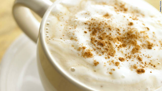 Breakfast buffet: National cappuccino day