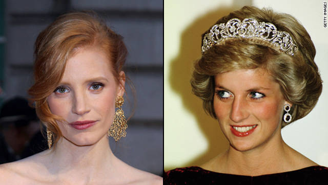 Jessica Chastain to play Princess Diana?
