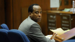 Conrad Murray seeks new test in Michael Jackson's death