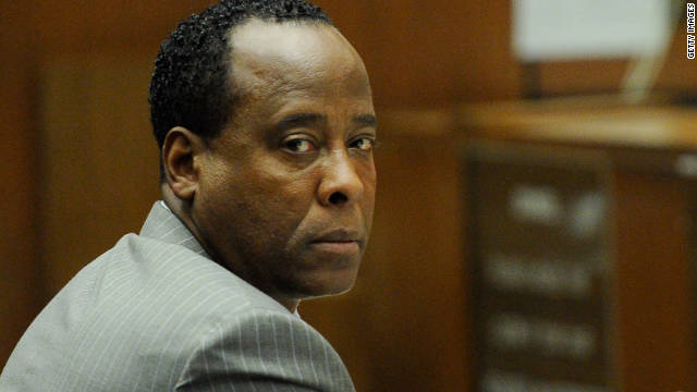 A California jury found Dr. Conrad Murray guilty last year of involuntary manslaughter in Michael Jackson's death.