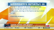 Mississippi to vote on 'personhood'
